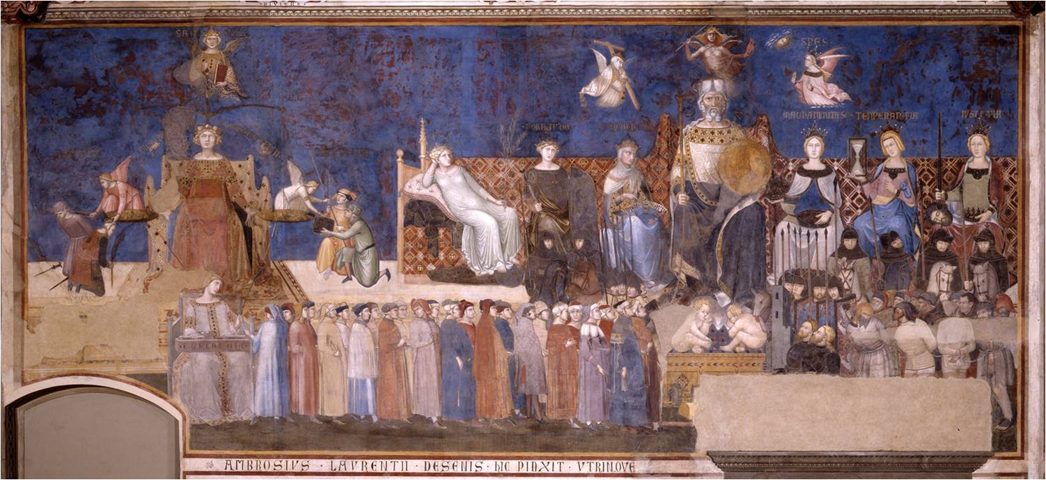 Image result for Ambrogio Lorenzetti